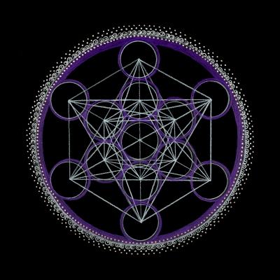 13_Metatrons Cube - Third Eye