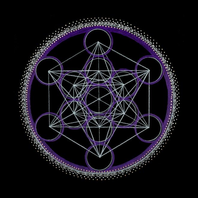 13_Metatrons Cube - Third Eye