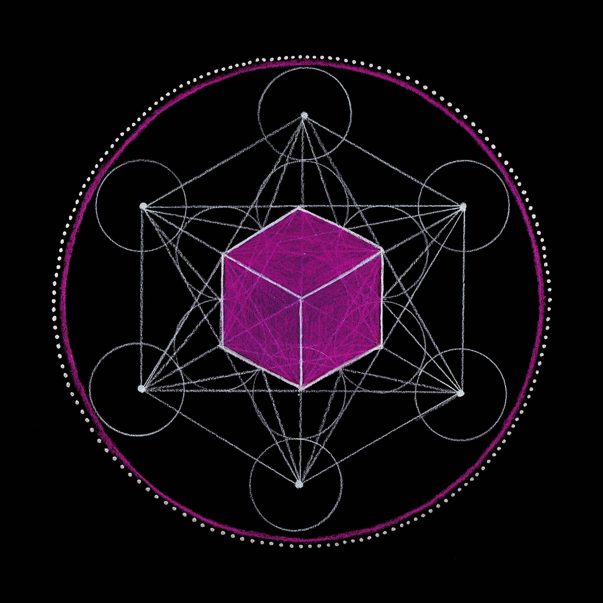 Z Symbol Of Infinity Mandala Chakra