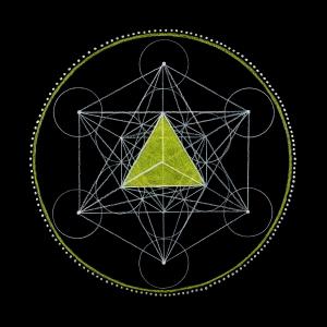 17_Fire - Tetrahedron - Solar Plexus