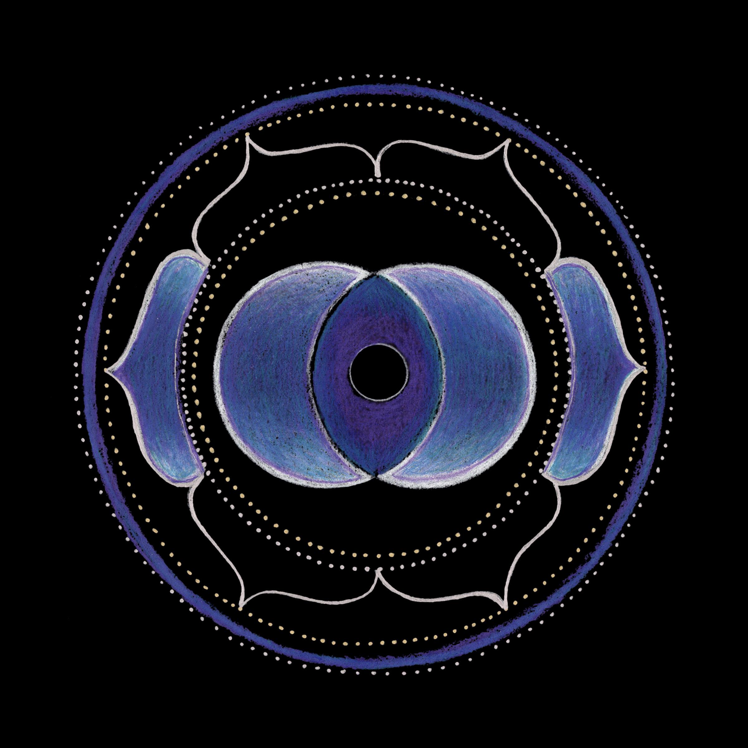 Third Eye Chakra Mandala Mandala Chakra