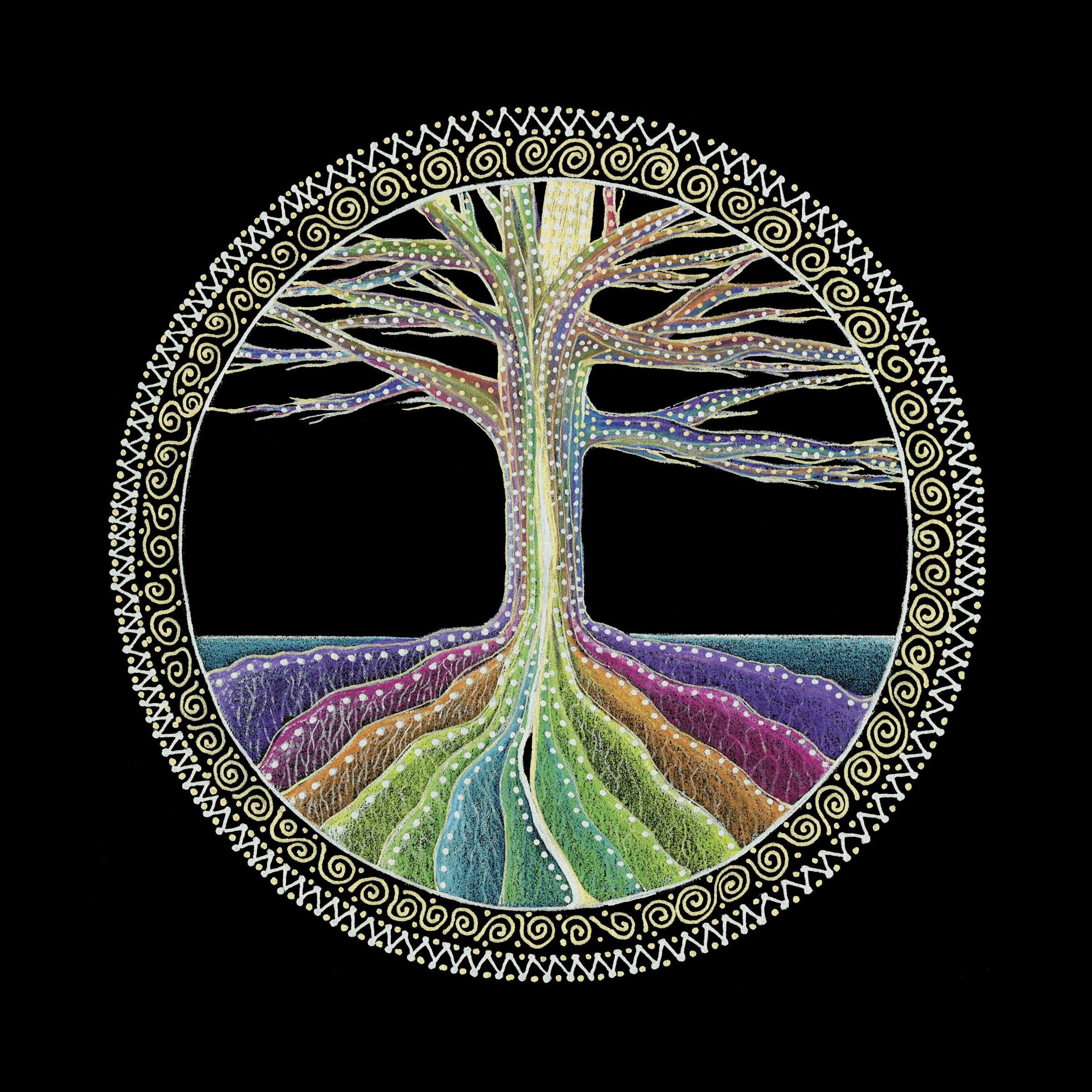 the chakras in the tree of life mandala chakra